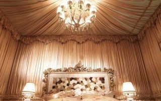 Как организовать декорирование стен тканью
