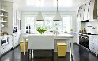 Кухня с темным полом – особенности интерьера, сочетания, советы