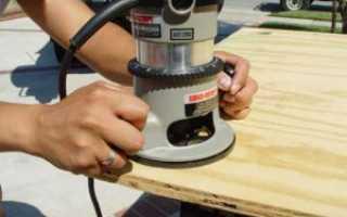 Как работать ручным фрезером. Устройство инструмента и технология работ.