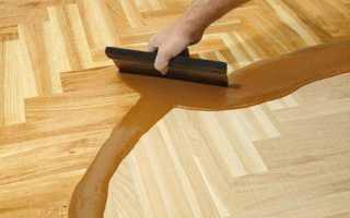 Шпаклёвка для деревянного пола
