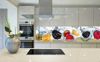 Как сделать кухонный фартук