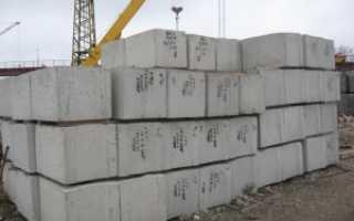 Жб блоки для фундамента и бетонные конструкции – общая информация и преимущества