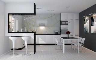 Кухни хай тек – особенности, цветовые решения, мебель, отделка, освещение, декор