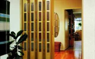 Фурнитура для складных дверей – в чем разница между гармошкой и книжкой