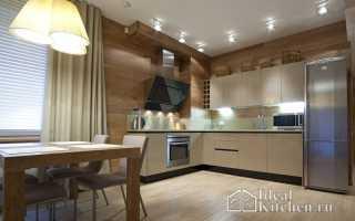 Освещение на кухне – виды ламп и варианты размещения световых приборов