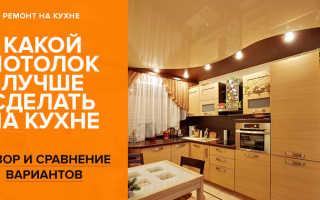 Как оформить потолок на кухне – особенности, популярные материалы и варианты