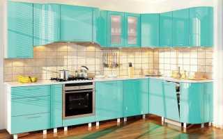 Кухня бирюзового цвета – принципы создания интерьера и особенности оформления
