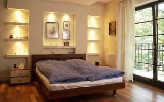 Ниша из гипсокартона в спальне – выгоды своеобразного элемента интерьера, советы