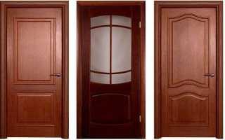 Установка дверей МДФ – стандартная конструкция и этапы монтажа дверного блока