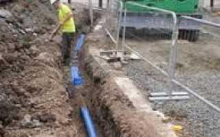 На какой глубине прокладывать водопровод – рекомендации и нормативы