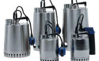 Дренажный насос с поплавковым выключателем – особенности и производители