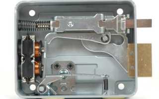 Электромеханический замок на дверь – устройство, виды, принцип действия и монтаж