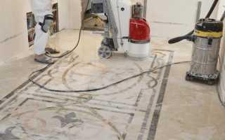 Работа с мрамором – реставрация в домашних условиях