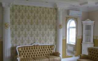 Лепнина на стенах: стильно и аристократично