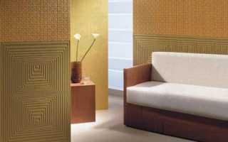 Стеклообои – особенности производства, поклейка и покраска