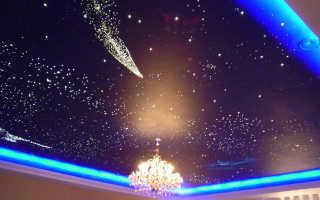 """Потолок """"звёздное небо"""" – мечты, ставшие реальностью"""