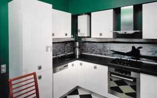 Дизайн кухни с колонкой: возможные варианты удачного размещения