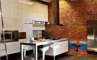 Кухня в стиле лофт – особенности, преимущества и недостатки