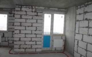 Внутренняя отделка дома из пеноблоков