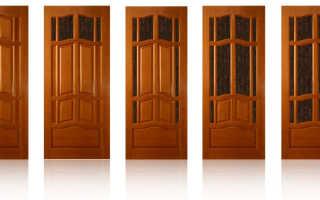 Межкомнатные двери из натурального дерева – цельный и клееный массив древесины