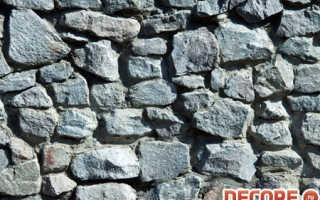Монолитные и мелкоблочные стены
