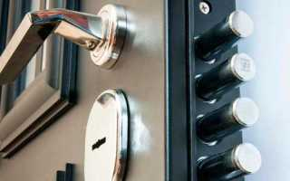 Дверной замок защелка – разновидности механизмов по разным критериям