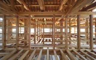 Полы по деревянным балкам: как сделать
