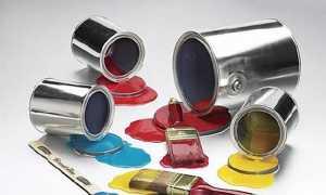 Краски на жидком стекле