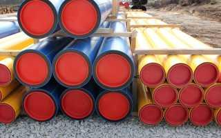 Полиэтиленовые трубы для газопроводов – преимущества, классификация и монтаж