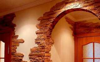 Дверные откосы из камня, натурального и искусственного