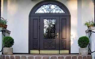 Входные двустворчатые двери – особенности и преимущества металлических дверей