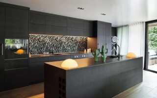 Кухня в стиле модерн – характерные черты, цветовые решения и отделка