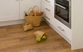 Ламинат под плитку на кухню – особенности выбора и применения