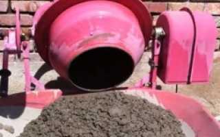 Привод для бетономешалки – различия по типу воздействия и механизму соединения
