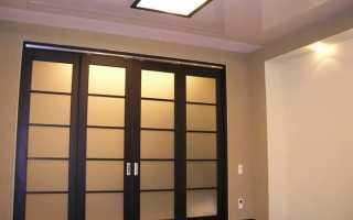 Раздвижные двери в зал: виды и дизайн