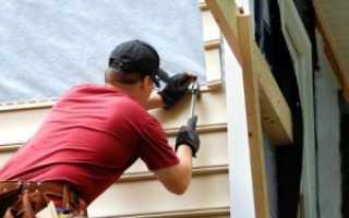 Монтаж сайдинга вокруг окна – комплектующие и особенности выполнения работ
