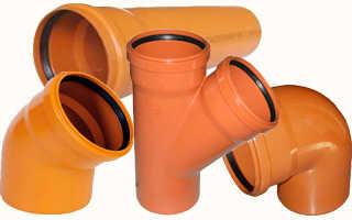 Трубы для канализации НПВХ – предназначение, преимущества, особенности и выбор