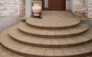 Бетонное крыльцо для дома – размеры и устройство монолитной конструкции