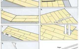 Как уложить паркетную доску самостоятельно — особенности и правила укладки