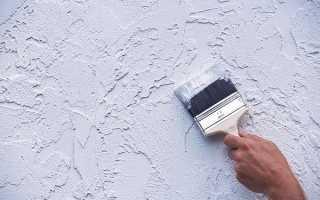 Фактурная штукатурка из обычной шпаклевки – состав, способы нанесения, окраска