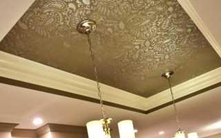 Монтаж натяжных тканевых потолков