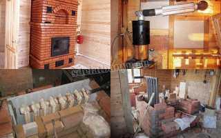 Печные котлы отопления – расположение и виды теплообменников, устройство системы
