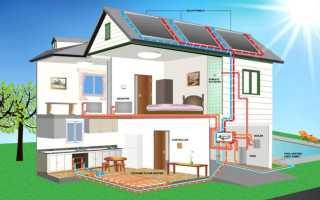 Двухтрубная система отопления двухэтажного дома: схема разводки, тонкости и нюансы