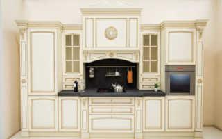Кухня в стиле барокко – история, особенности, мебель, освещение и декор