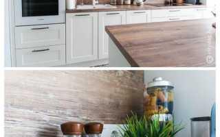 Размеры столешницы для кухни из ДСП – стандартные и индивидуальные