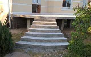 Популярные варианты отделки ступеней входной бетонной лестницы – что выбрать
