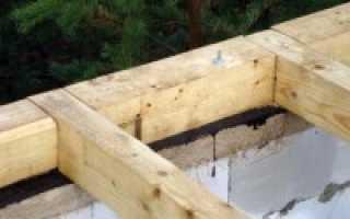Как крепить брус к фундаменту – способы фиксации к бетону и металлическим сваям