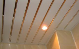 Типы реечных потолков: открытый и закрытый