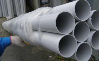 Гладкая жесткая ПВХ труба – сфера применения, характеристики, ассортимент