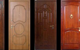 МДФ панели для металлических дверей – разновидности и преимущества
